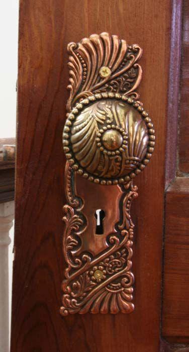 The Octagon House Door Hardware