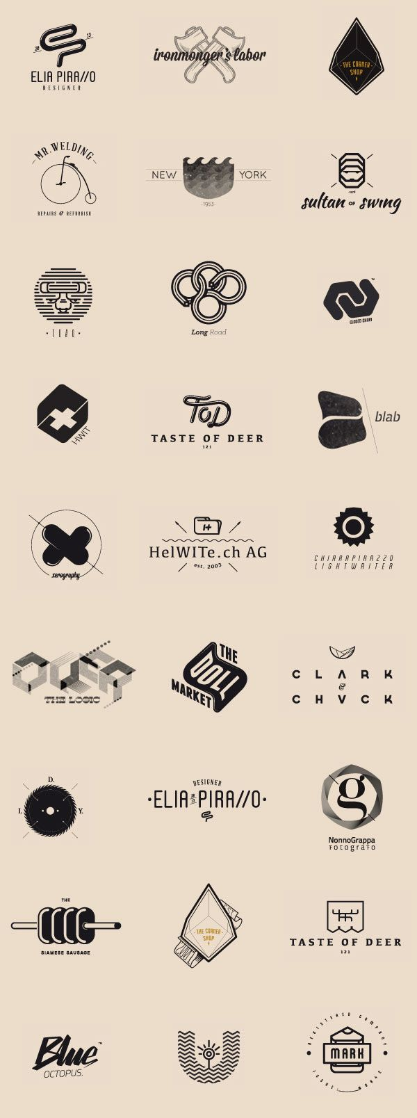 Logo Collection by Elia Pirazzo