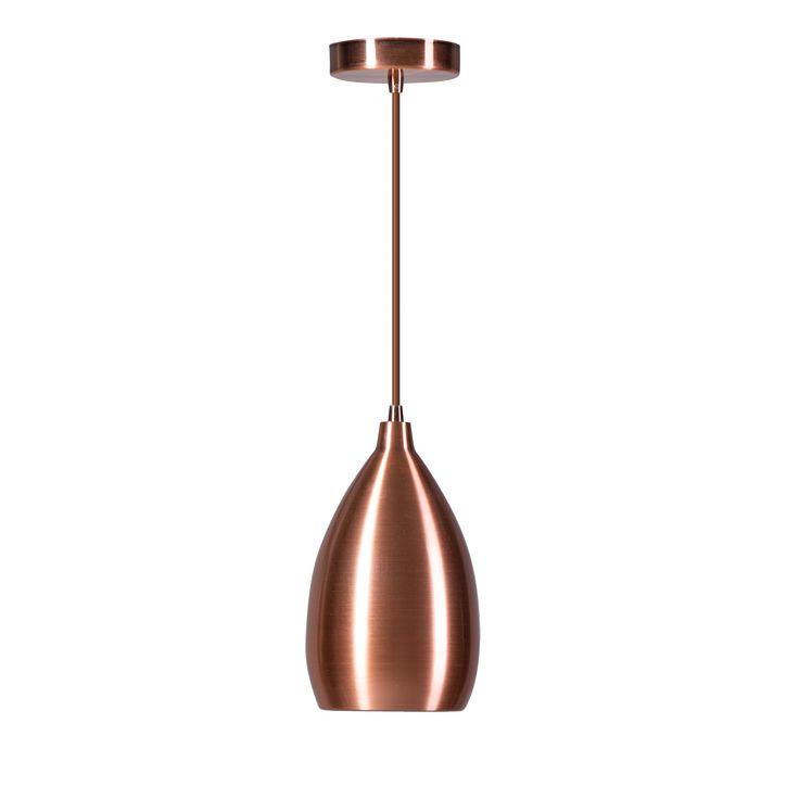 Ajaccio koperen hangverlichting