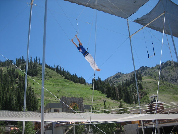 Trapeze with Trapeze Arts at Kennolyn Camps available