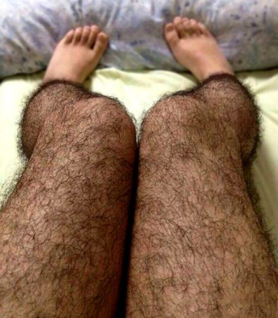 Anti-Pervert Hairy Stockings. Yes, they do exist and expect the pervs -- and probably everyone -- to avoid you like the Black Plague.