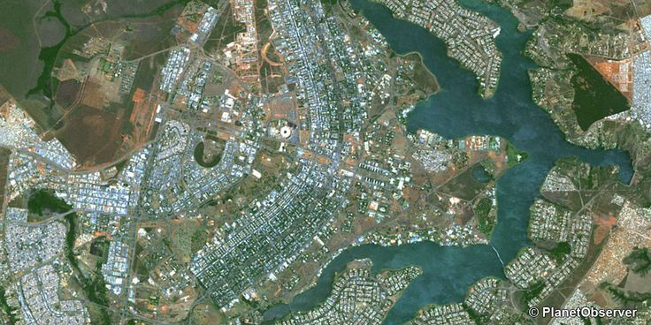 Brasilia, Brazil – PlanetSAT 15 satellite image (10/2014)