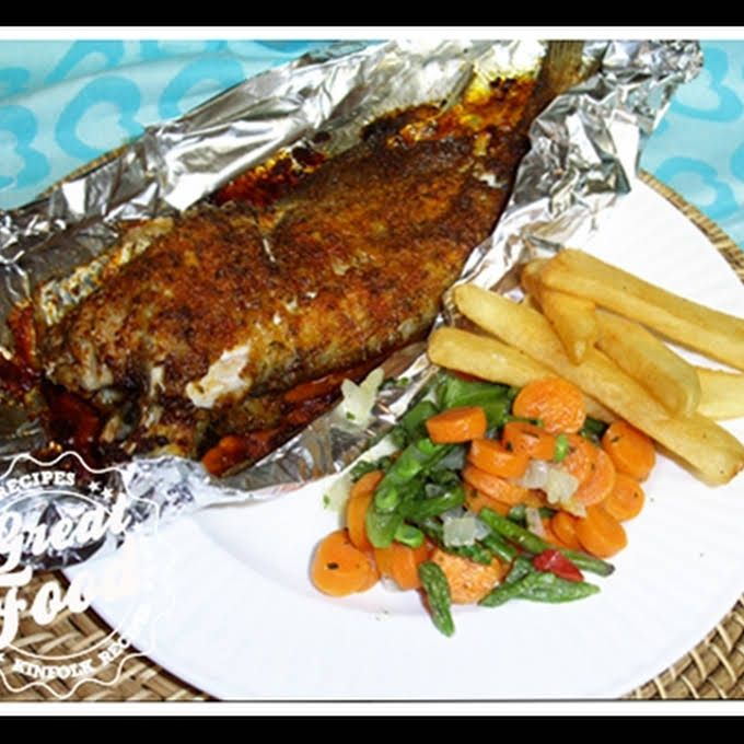 Baked Catfish | Recipe (With images) | Baked catfish ...
