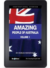 Amazing People of Australia - A Short eBook | The Amazing People Club