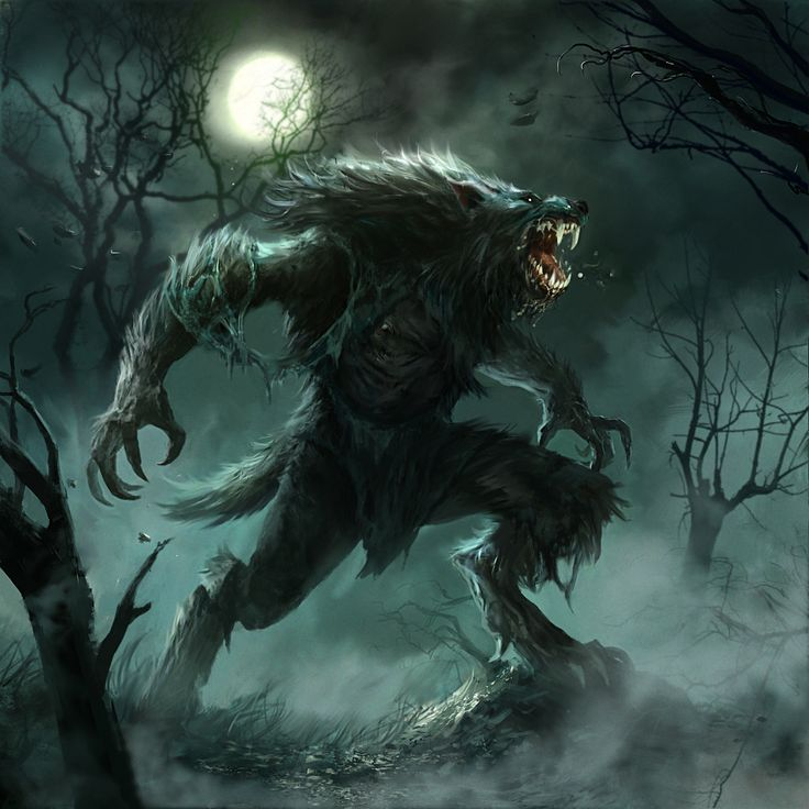 worgen in the woods