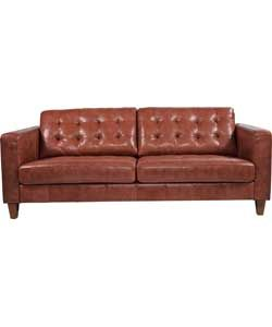Leather sofa very cheap Argos £450