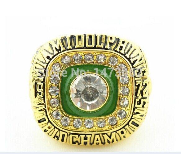 Спортивные кольца 1972 MIAMI DOLPHINS чемпионы мира чемпионат супер боул кольцо размер 11 с коробкой