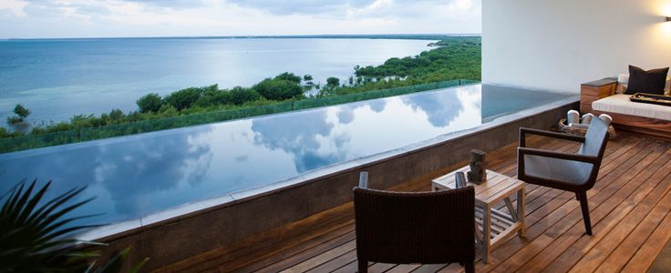 NIZUC Resort and Spa - Mexico's exclusive modern luxury hotel brand.