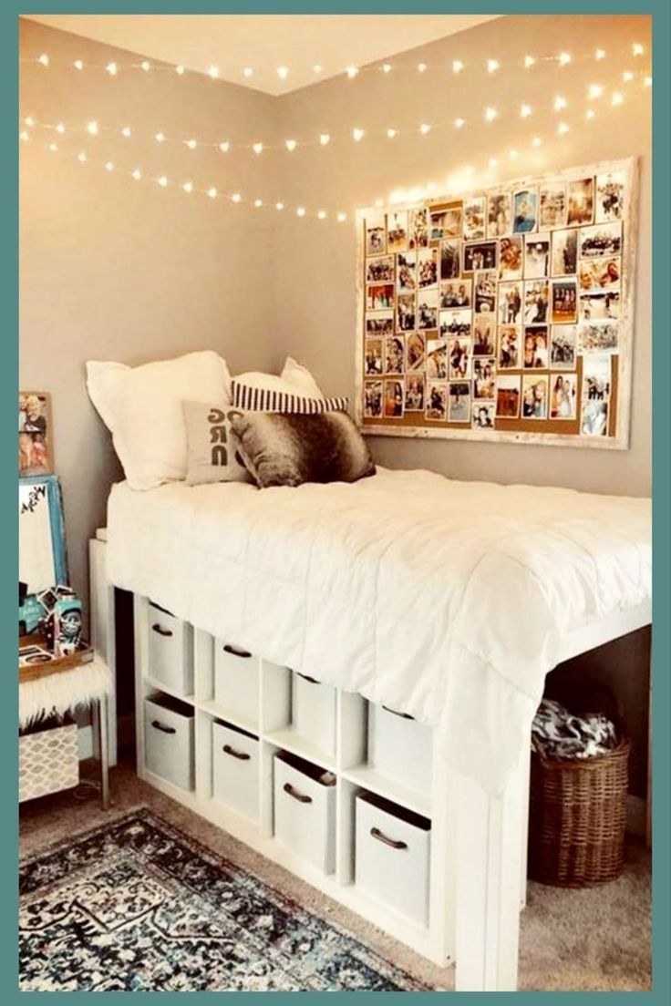 Dorm Room Storage: Dorm Decorating Ideas PICTURES For