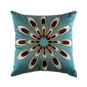 I love this pattern! Would look great on my Chocolate Leather Couch!