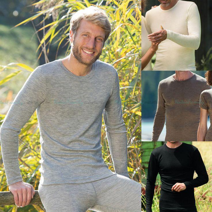ENGEL Herren Langarm Unterhemd bio Wolle Seide Funktionswäsche Shirt Schurwolle | Kleidung & Accessoires, Herrenmode, Unterwäsche | eBay!
