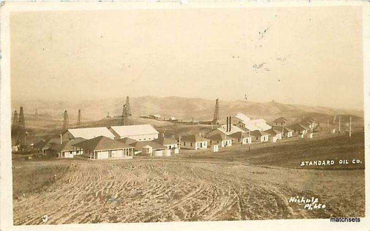 1913 Coalinga California RPPC Standard Oil Company 2812 Postcard | eBay