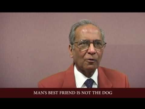 MAN'S BEST FRIEND IS NOT THE DOG