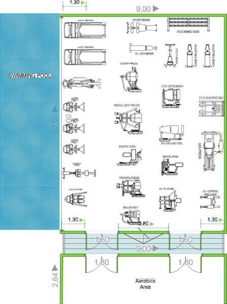 20 best gym designs images on pinterest gym gym design for Gym design layout