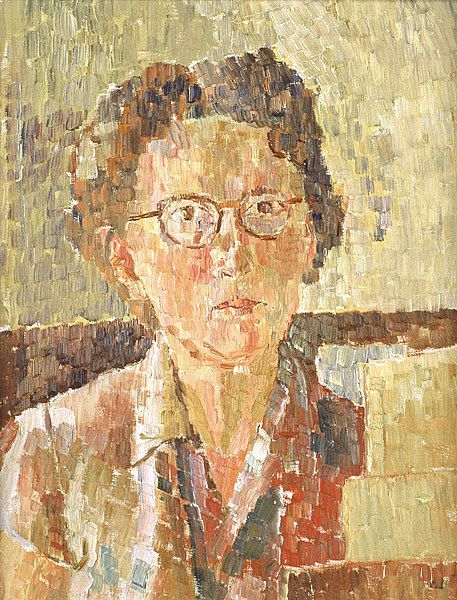 Grace Cossington Smith, Self portrait on ArtStack #grace-cossington-smith #art