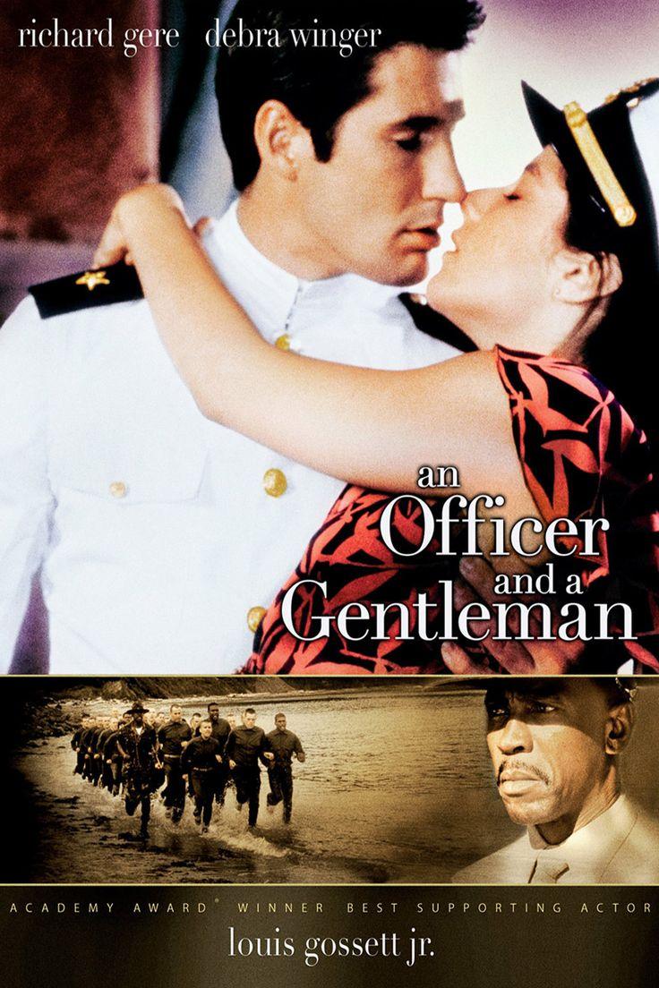 An Officer and a Gentleman Movie Poster - Richard Gere, Debra Winger, Louis Gossett Jr.  #AnOfficerAndAGentleman, #RichardGere, #DebraWinger, #LouisGossettJr, #TaylorHackford, #Drama, #Art, #Film, #Movie, #Poster