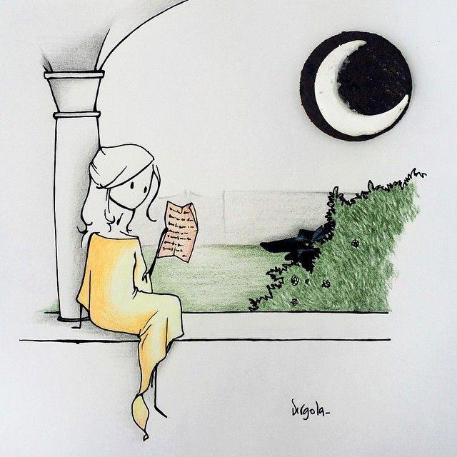 Tiny Cute Illustrations by Virginia Azzurra Di Giorgio