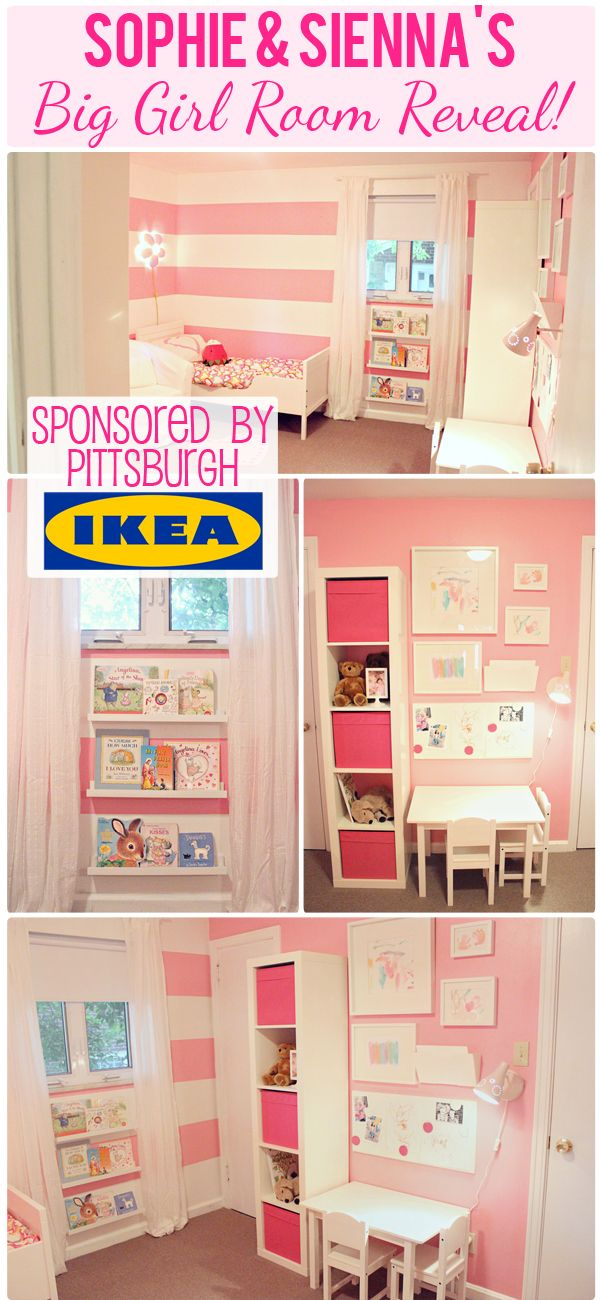 The Busy Budgeting Mama: VLOG: IKEA Big Girl Room Reveal- $500 IKEA GIVEAWAY!
