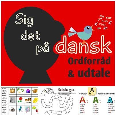 Jeg har længe nørklet med at lave en materialesamling til brug i min Dansk som andetsprogs- og danskundervisning…. og nu er jeg omsider kommet så langt med samlingen at jeg synes jeg godt kan…