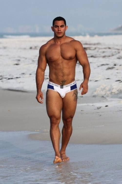 Nude men latino muscle