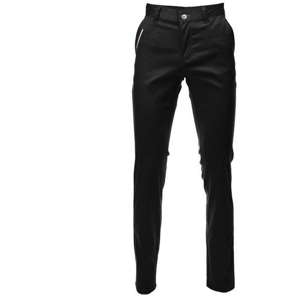 FLATSEVEN Mens Slim Fit Chino Pants Trouser Premium Cotton ($39) ❤ liked on Polyvore featuring men's fashion, men's clothing, men's pants, men's casual pants, mens pants, mens slim fit pants, mens cotton pants, mens chinos pants and mens chino pants