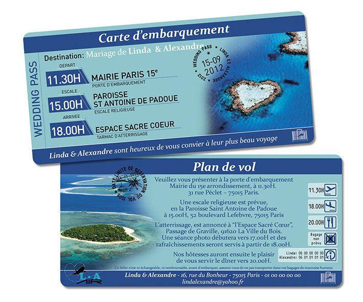 Billet d'Avion Destination Ile Coeur