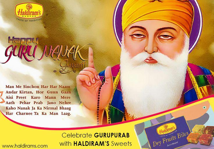 Haldiram's Wishes You All Happy Guru Nanak Jayanti  #GuruNanakJayanti #Haldiram #Haldiramsnagpur