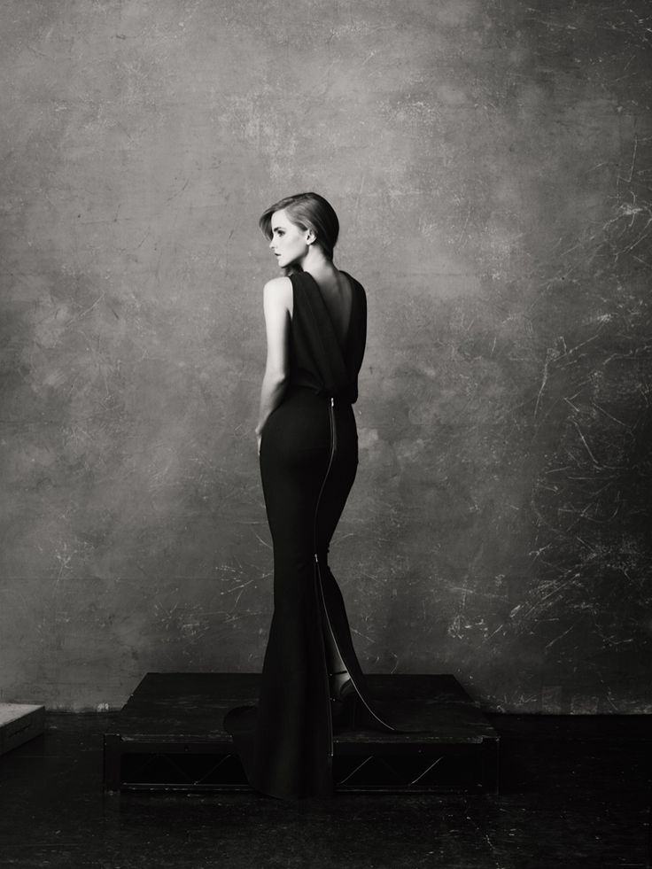 Emma Watson for Net-A-Porter magazine. With eco-friendly fashion from Green Carpet Challenge.