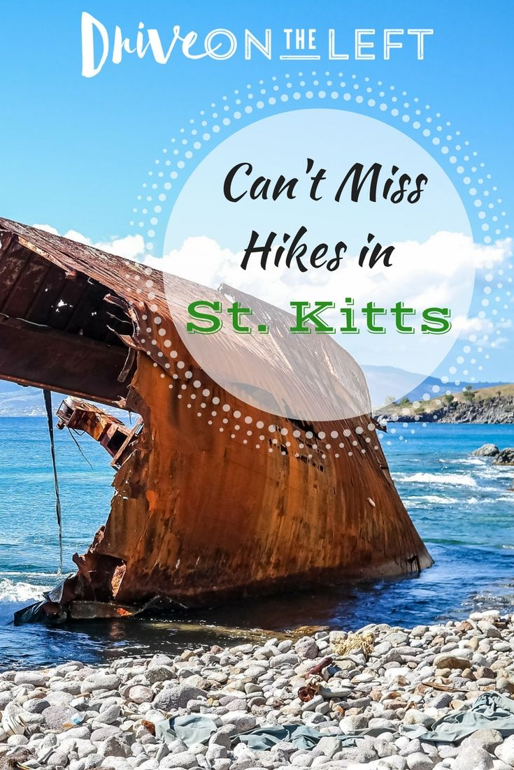 The Caribbean island of St. Kitts is not just about beaches. Check out these amazing hikes, just two of many adventures you can have away from the beach on your next St. Kitts holiday!