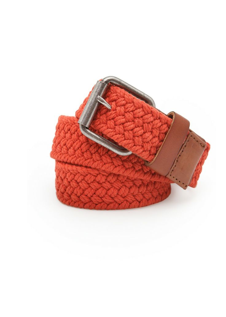 Braided cotton belt REF. 23093521 - Trenza c VND749,000 Colour: Orange
