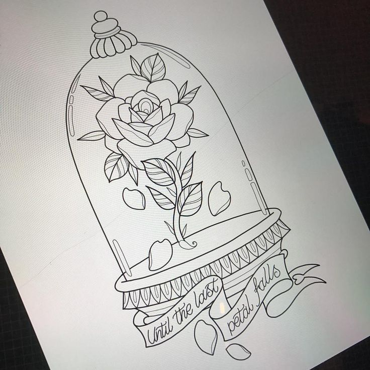 Beauty and the beast bell jar for lyssa tomorrow (…