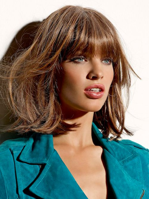 Bob haircuts with bangs seem to never go out of style. Women will always love wearing them as they are amazingly versatile, yet easy to create and maintain.