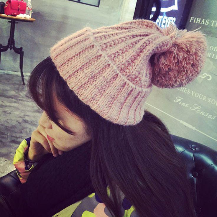 $5.94 (Buy here: https://alitems.com/g/1e8d114494ebda23ff8b16525dc3e8/?i=5&ulp=https%3A%2F%2Fwww.aliexpress.com%2Fitem%2Fblue-pink-crochet-beanie-beanie-hat-with-pompom-winter-cool-best-wool-skully-hipster-beanie-skate%2F32766679139.html ) blue pink crochet beanie hat with pompom winter cool best wool skull hipster beanie skate for just $5.94