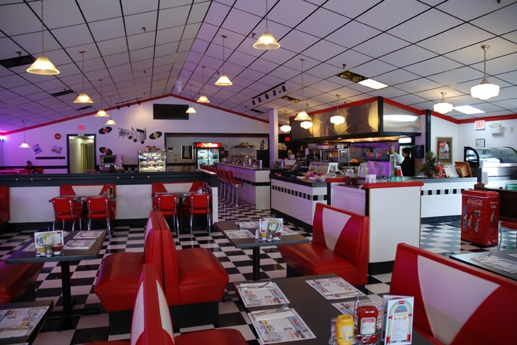 """True North Diner"" in Bedford, Nova Scotia. Hamburgers are ones of the best ever."