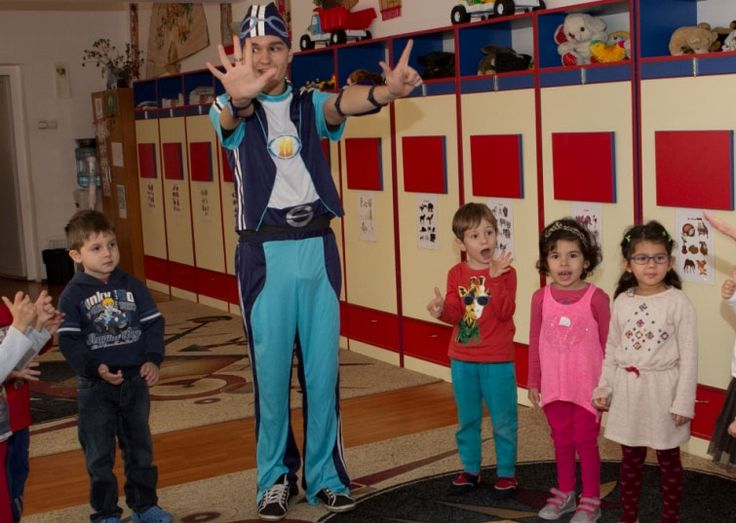 animatori petreceri copii - Sportacus