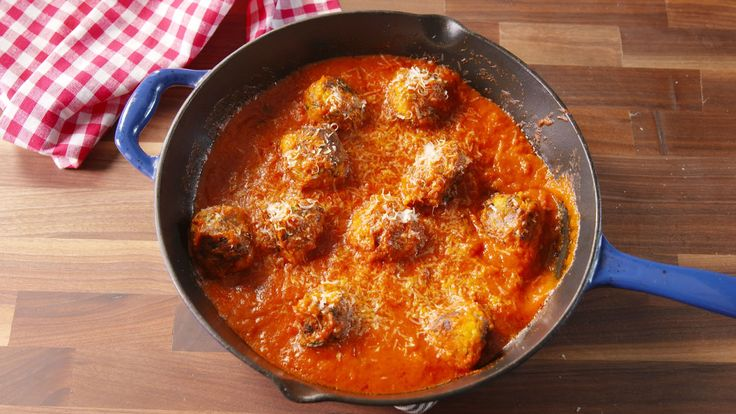 """You won't miss the meat in these vegetarian """"meatballs."""""""