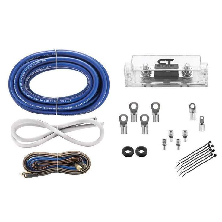 Do you want all parts of music system to install in Car? Shop kit from Ct sounds, their stock includes 4GA Pro Amp Kit, 4GA Pro Amp Kit, 4GA Elite Amp Kit, Big 3 Wiring kit and 0 Gauge Blue Wire Kit, and much more. They are supplying vehicle wiring parts worldwide by mail order anytime.