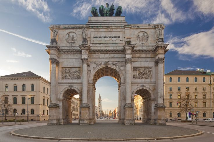 Siegestor - Munich, Germany AR9 Stop 3b