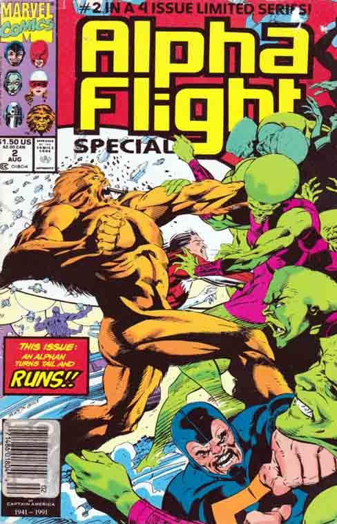 Alpha Flight Special Alpha Flight comic books star a team of Canadian super-heroes. Created by Chris Claremont and John Byrne. Alpha Flight first appeared in X-Men (1963 series) #120.