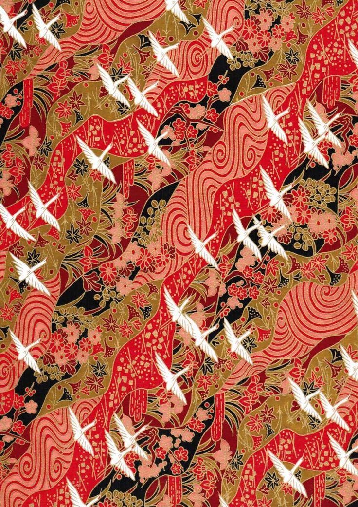 Japanese chiyogami paper