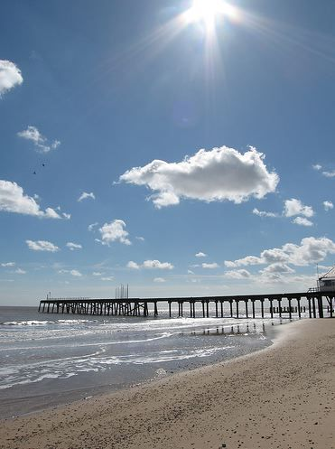 "Lowestoft Pier, Suffolk, UK - immortalized in W.G. Sebald's ""The Rings of Saturn"""