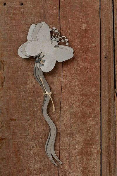 Metal Garden Stakes Butterfly (6/pk) At Www.GrowOrganic.com
