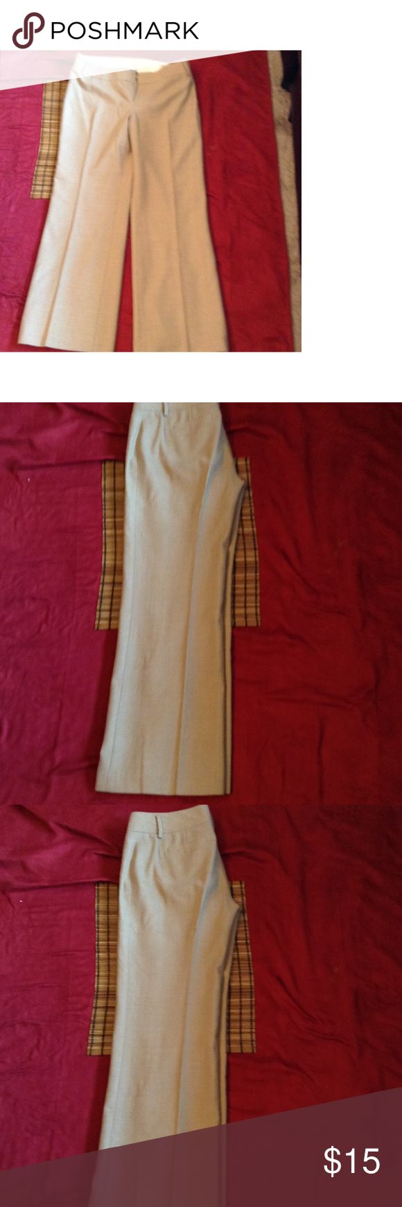 Banana Republic Pants Size 6P Fit Women Beige Tan Wool Lined Pants Martin Fit Banana Republic Pants Size 6P Fit Women Beige Tan Wool Lined Pants Martin Fit. Pre-owned great condition no major sign of wear and tear no rips, odors, marks. Banana Republic Pants Capris