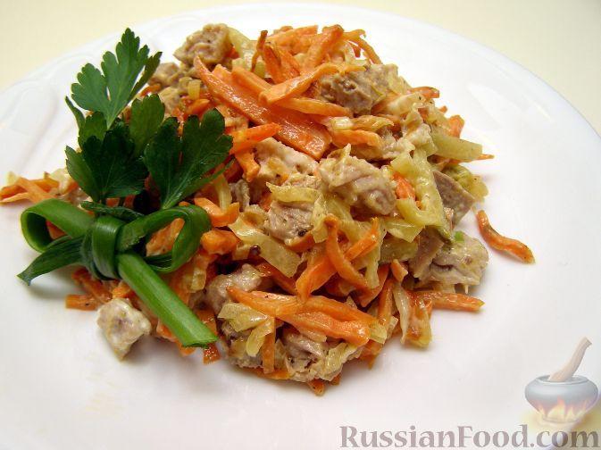 Рецепт салата обжорка магазина лента