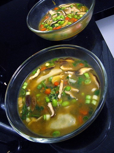 High Fiber Vegetables Soup; adapt for paleo...fiber subs for barley needed though
