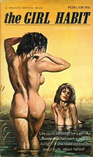 covers fiction book Lesbian pulp