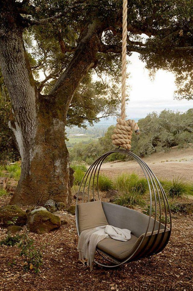 Garden Swing Chairs Design Ideas