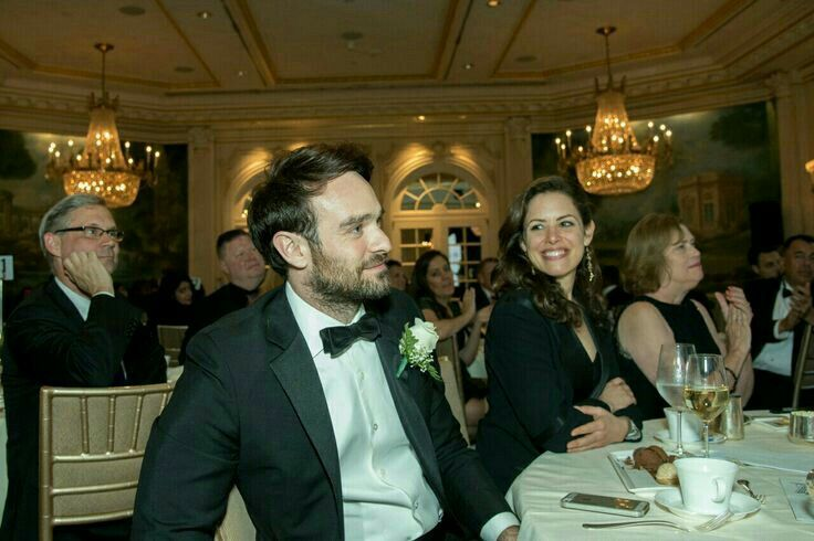 Charlie Cox and his girlfriend Samantha Thomas