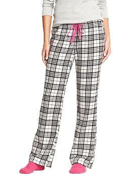 Womens Printed Flannel PJ Pants