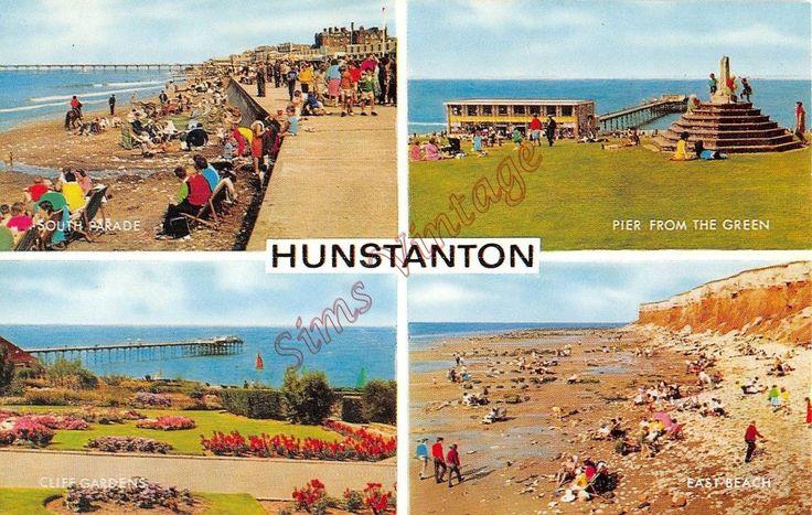 Norfolk Postcard Hunstanton I0 013 | eBay